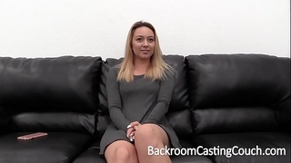 Cute golden-haired screwed wonderful and creampie