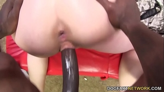 Bbc and anal floozy sasha swift is afraid for her arse
