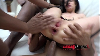 Lina love 3on1 bbc dp & intensive anal fucking rs52