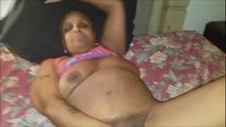 Jamaican whore receives screwed then her dude call whilst shes gettin schlong ducks ejaculation