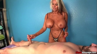 Experienced white wife dom tugjob