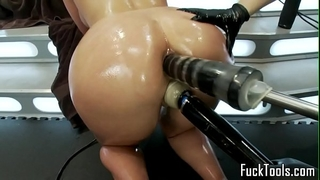 Pussy licking lesbian babes fist and toy vagina
