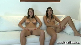 Two teenage chicks posing undressed for their agents part two 720 1