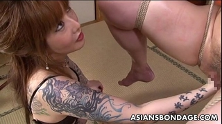 Asian thraldom chick is fisted