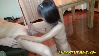 Oriental girlette does assfuck be fitting of love insistent plus health