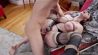 Bf in triplet bondage bangs maw coupled with gf