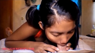 HD thai teen mom heather deep give deepthroat to monster cock  and get big load creamthroat throatpie