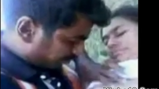 Indian Beautifull Girl Fucking alongside Jungle with Boyfriend Sex Video