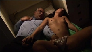 Young dirty slut wife spied and groped by her uncle in her sleep