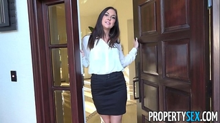 Propertysex - lustful real estate agent busted watching porn