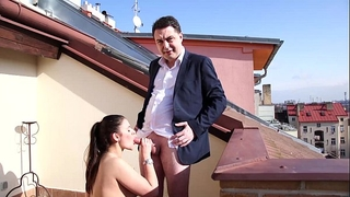 Mesmeratrix's spouse andrea diprè make sex with a admirable horny white wife in prague 2016