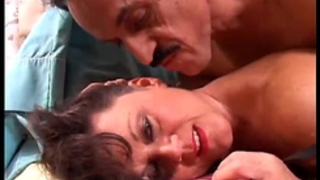 Sexy old spunker in nylons debella enjoys a facial ejaculation