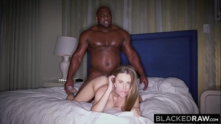 Blackedraw juvenile horny white wife addicted to bbc